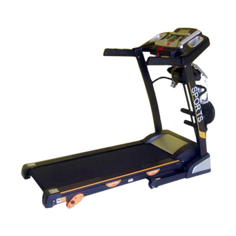 jual treadmill elektrik 4 fungsi id 6638 m alat fitness