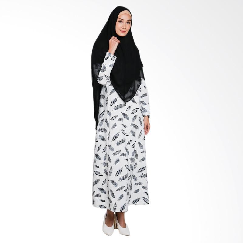 Jual Erin Collection Motif Daun Baju Muslim Wanita Dan