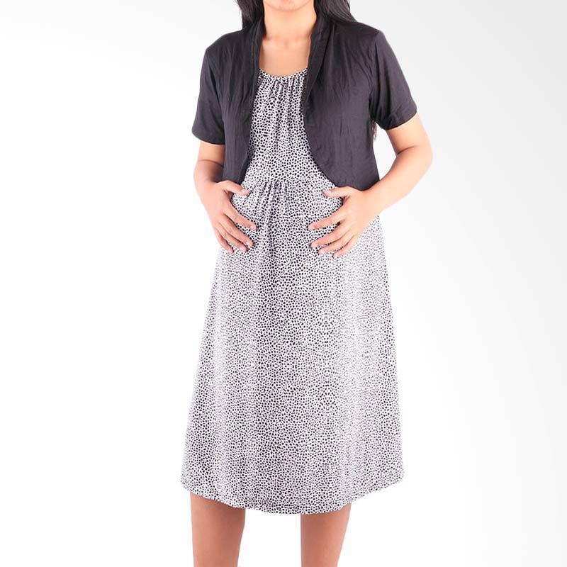 Jual HMILL 1139 Baju Hamil Dress Hamil Menyusui