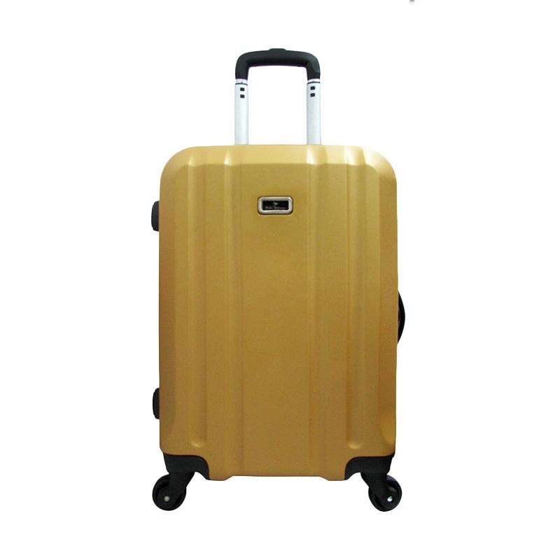 Jual Polo Milano 28117 Hard Case Abs Koper Gold 20 Inch