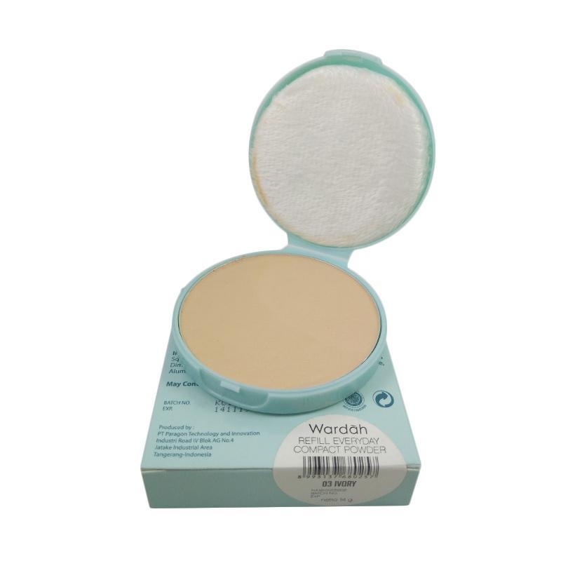 Jual Wardah Everyday Compact Powder Bedak Padat Refill