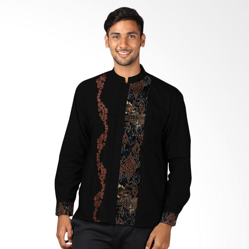 Jual Aitana Kk Mg 1510126 Ls Baju Koko Batik Bordir Pria