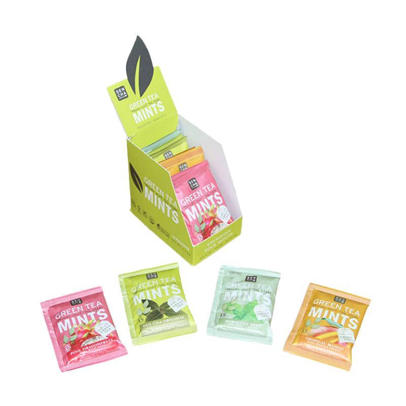 Jual Sencha Naturals Green Tea Mints Permen [Sachet/ 4 ...