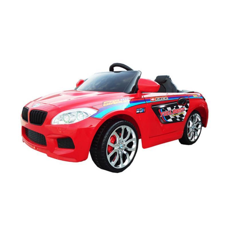 jual elite m 9188 mbw mainan mobil aki red jabodetabek online harga kualitas terjamin. Black Bedroom Furniture Sets. Home Design Ideas