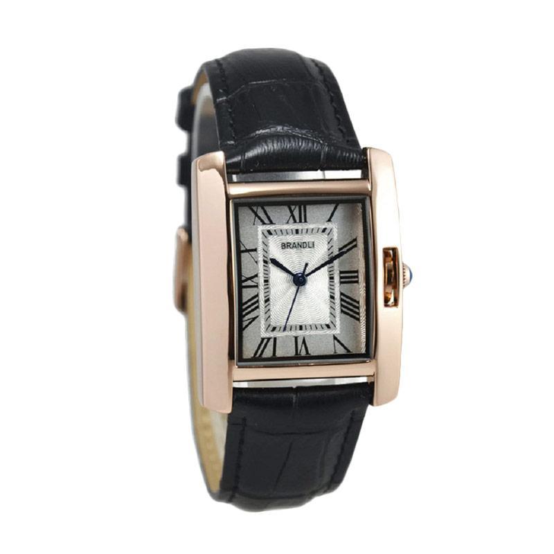 brandli brandli a385 jam tangan wanita hitam ring rosegold full02 feedyeti.com .