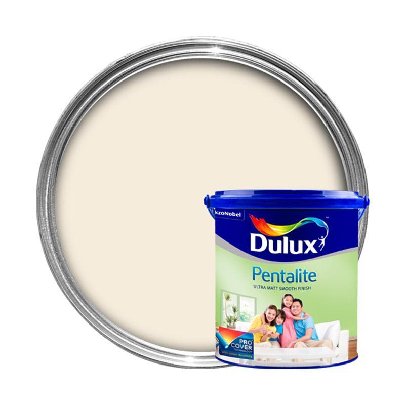 Jual Dulux  Pentalite Cat  Interior Lily  White  2 5 L