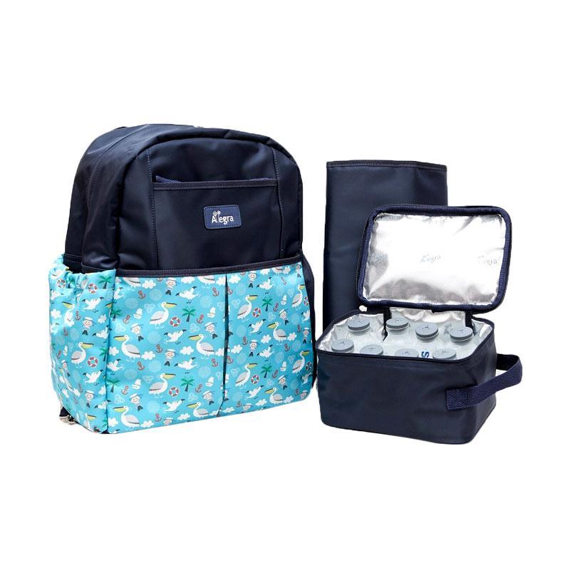 jual allegra phillip cooler diaper backpack navy blue online harga kualitas terjamin. Black Bedroom Furniture Sets. Home Design Ideas