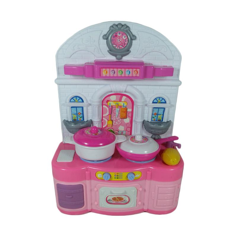 Jual daymart toys pretend play kitchen set mini mainan for Kitchen set anak