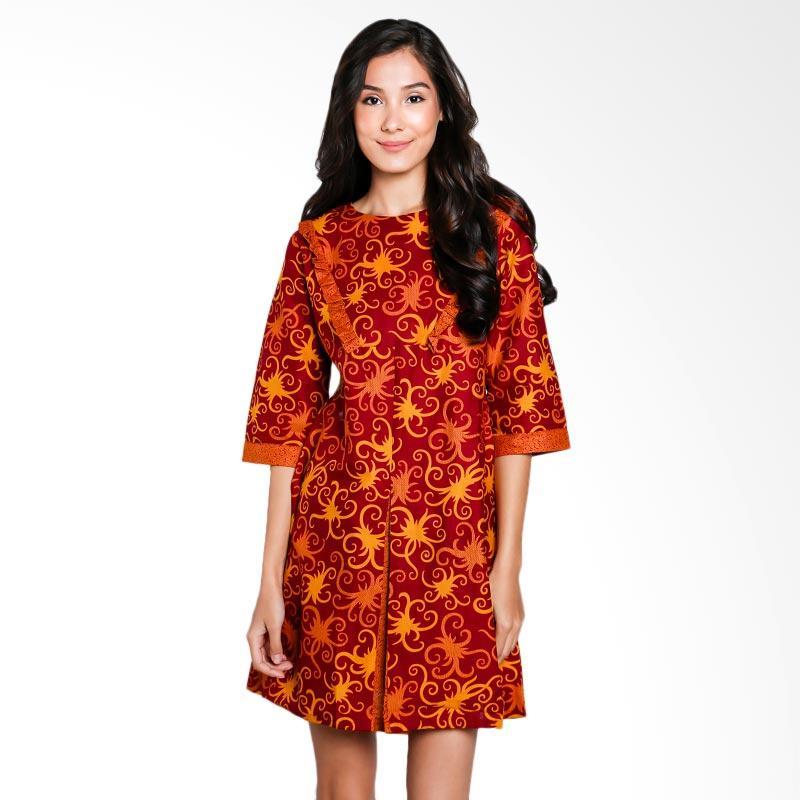 Batik Keris Warna Merah: Jual Batik Arjunaweda Women Sackdress Cumikan Warna