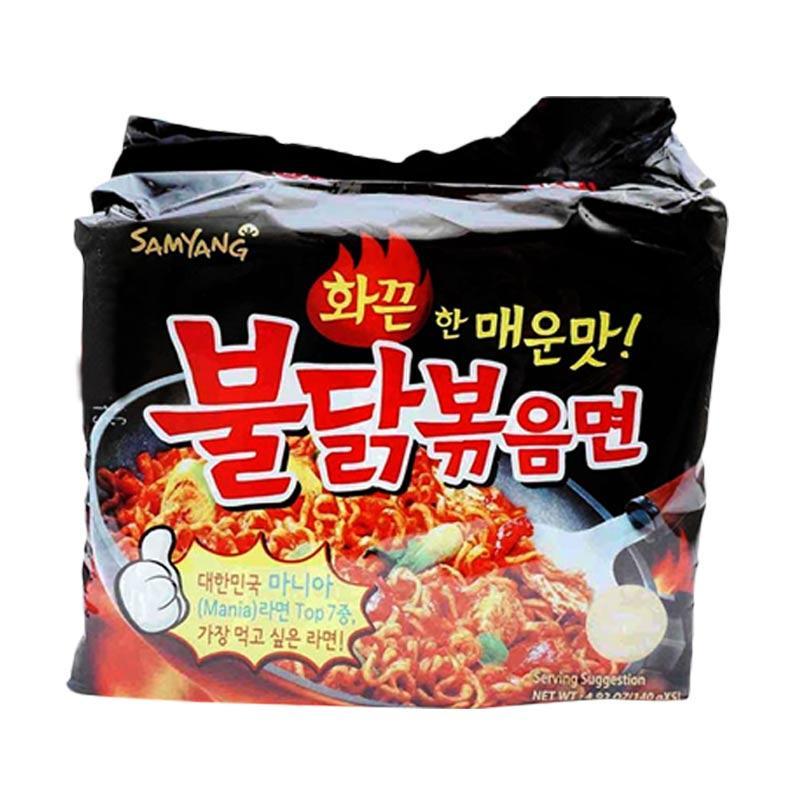 Jual Samyang Spicy Chicken Roasted Noodles [140 g/5 pcs