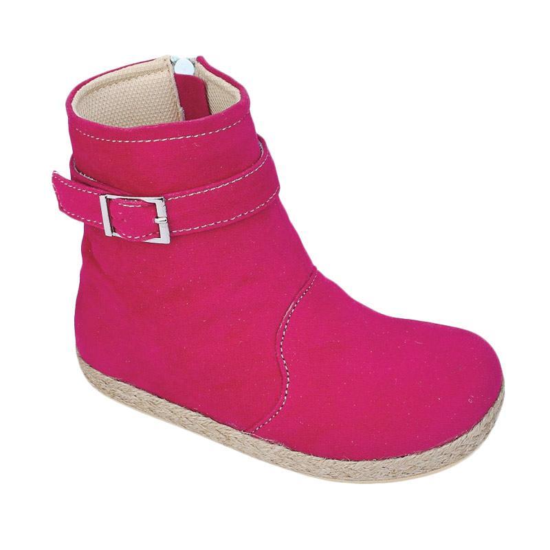 Jual Syaqinah 218 Sepatu Boots Anak Perempuan - Pink Online - Harga & Kualitas