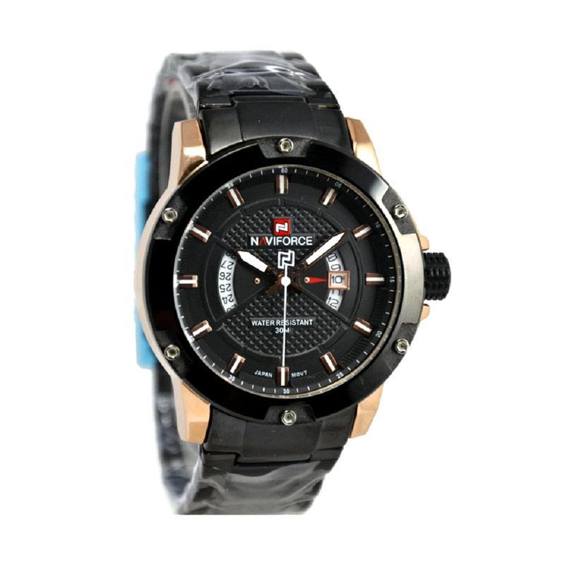 Naviforce Nf9085m Jam Tangan harga naviforce nf9084 jam tangan pria hitam rosegold