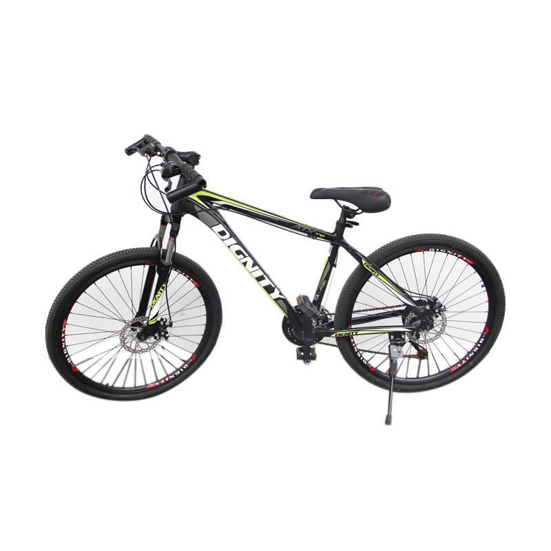 Jual Selis Dignity Type Allow Sepeda Mtb Hitam Hijau Online Harga Amp Kualitas Terjamin