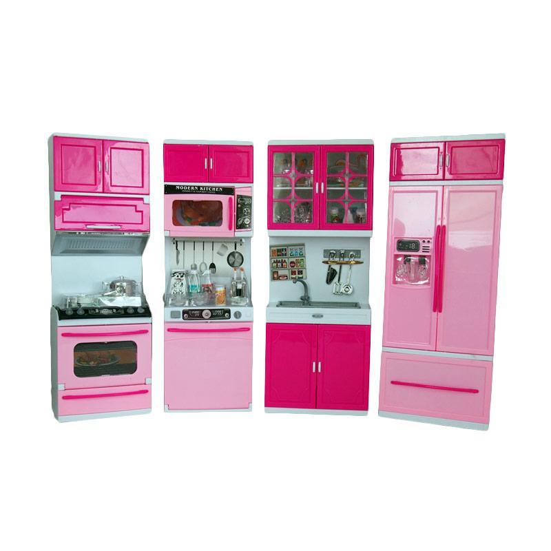 Jual ocean toy 818 30 modern kitchen set besar mainan anak for Kitchen set mainan