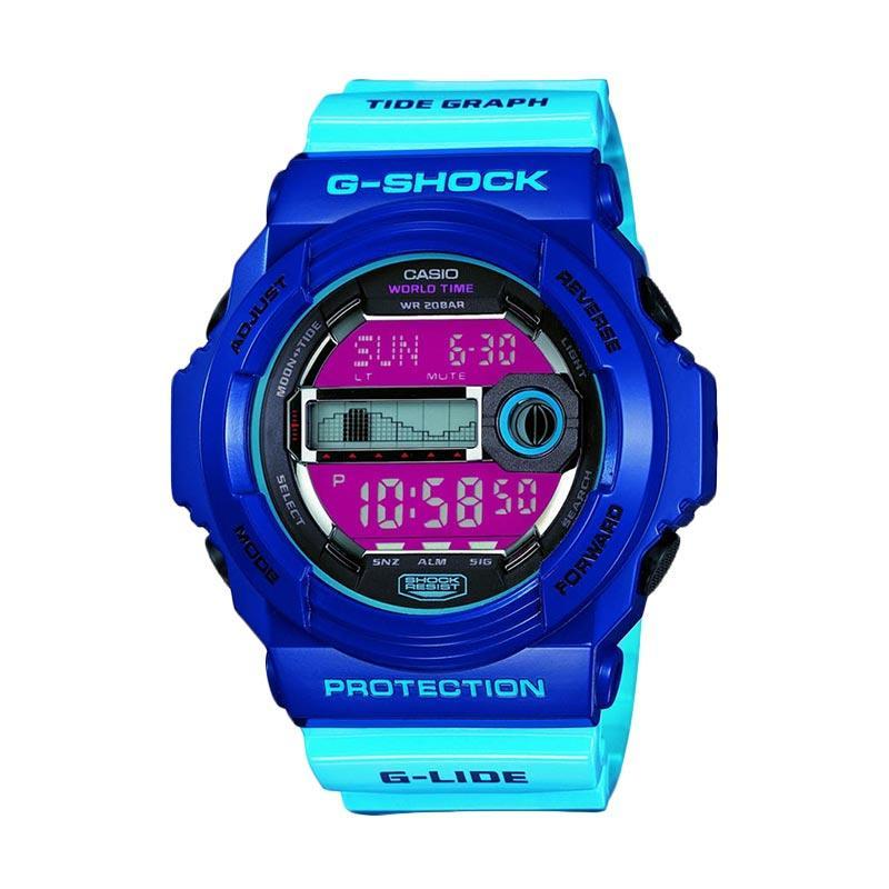 Jual CASIO G SHOCK GLX 150 2 G LIDE Super LED Jam Tangan