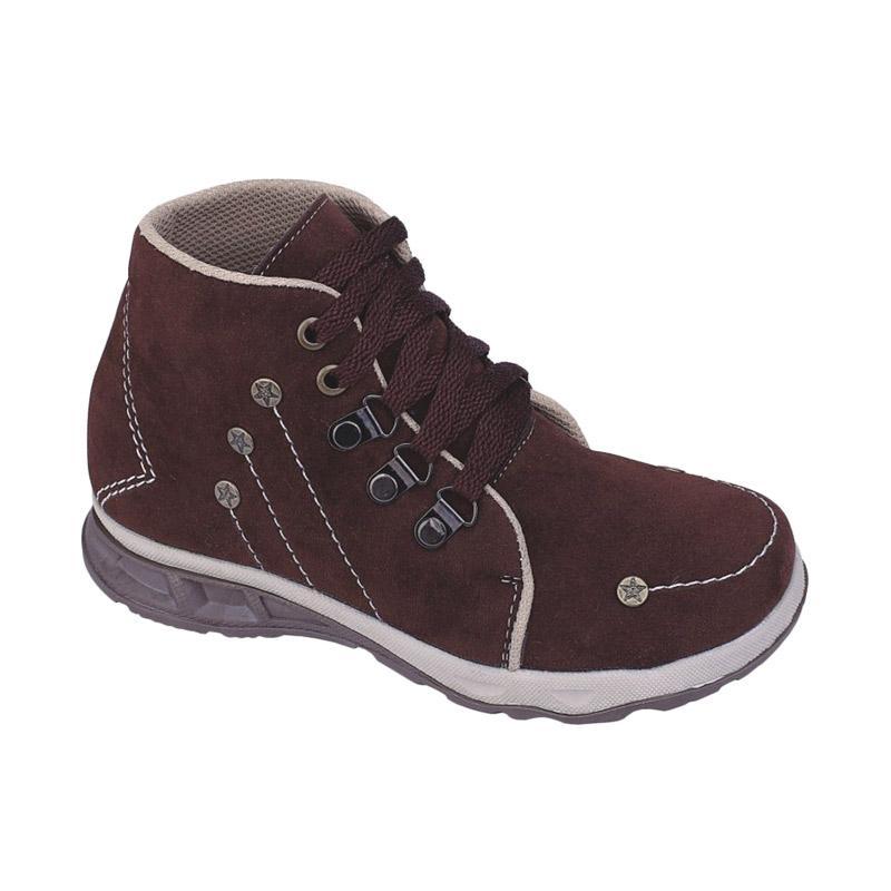 Jual Syaqinah 27 Sepatu Sneakers Anak Laki-laki - Coklat Online - Harga & Kualitas