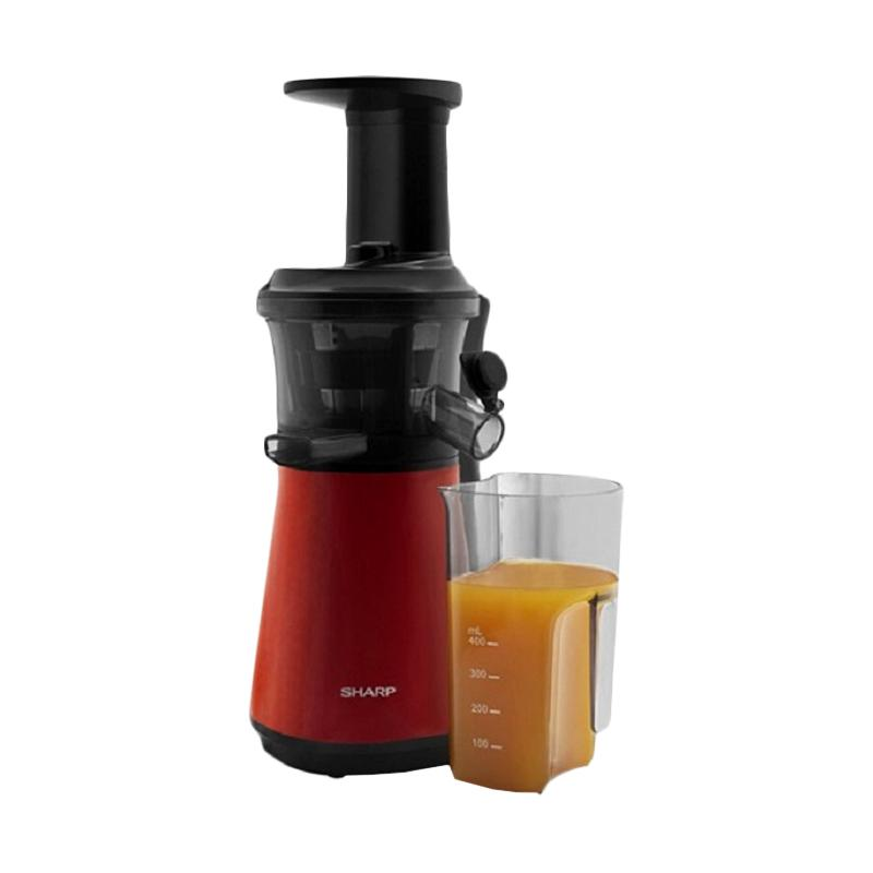 Slow Juicer 150 Watt : Jual SHARP EJ-C20Y-RD Slow Juicer - Merah [0.8 L/ 150 Watt/ New Model] Online - Harga & Kualitas ...