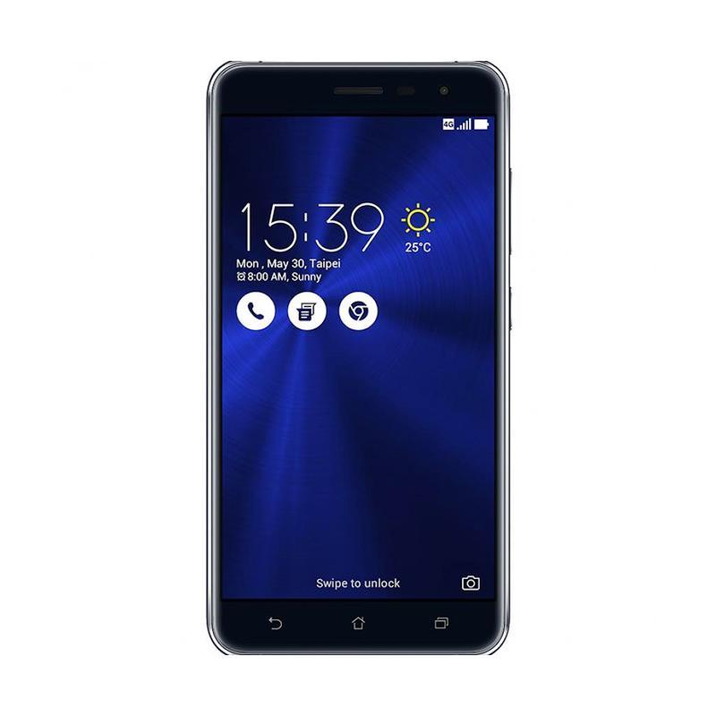 jual asus zenfone 3 ze552kl smartphone   sapphire black 32