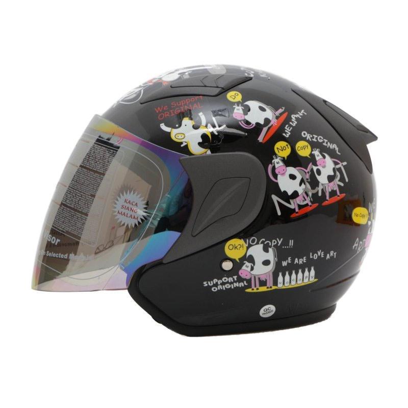 Jual MSR Helmet Javelin Original Helm Half Face