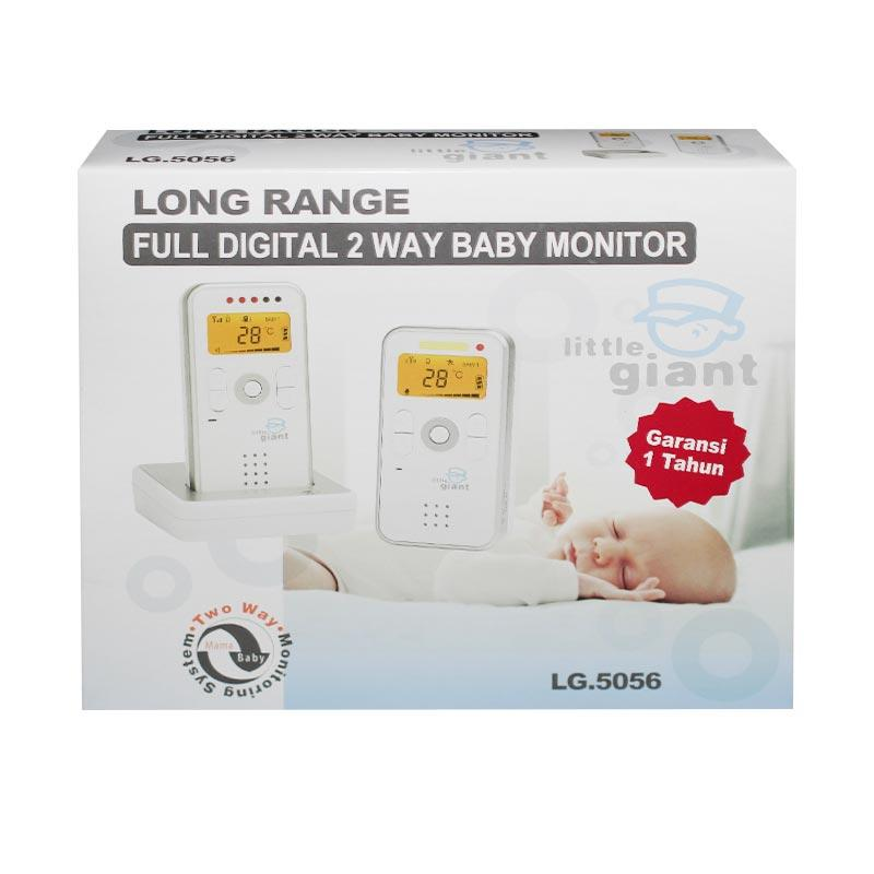 jual little giant full digital 2 way baby monitor online harga kualit. Black Bedroom Furniture Sets. Home Design Ideas