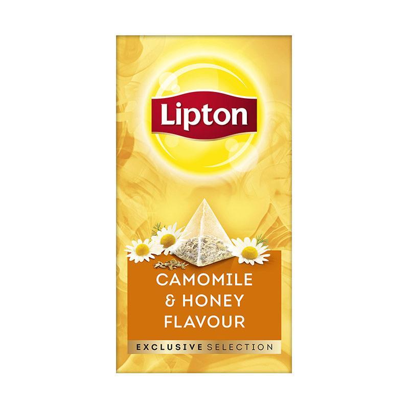 Lipton Env Camomile Honey Minuman Teh 30 Sachet 27 Gr