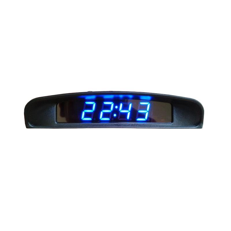 Jual LED Jam Digital 4 In 1 Untuk Mobil Jam Volt Suhu