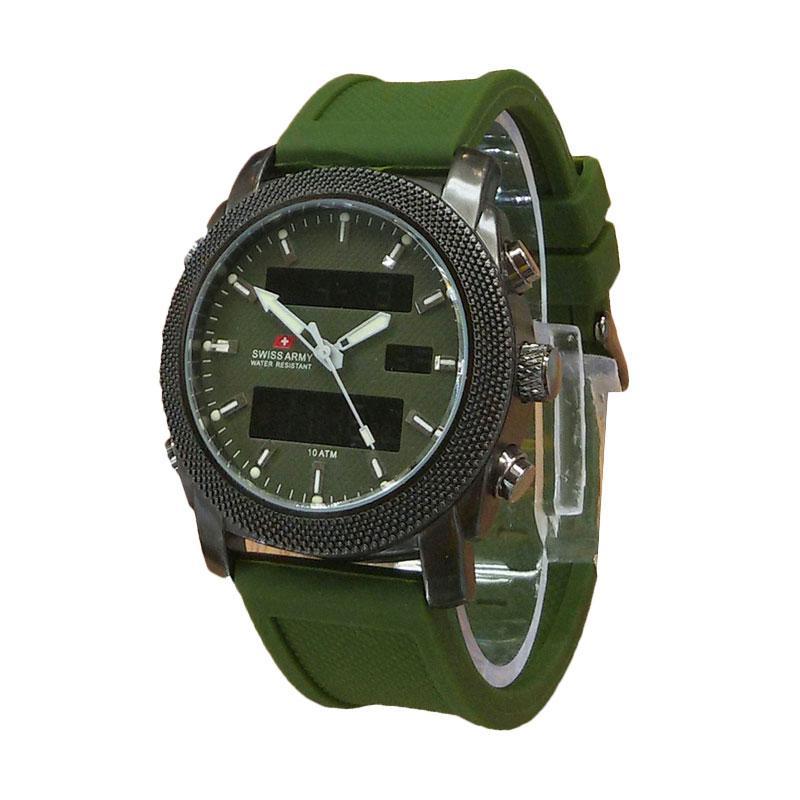 Jual Swiss Army Dual Time SA2188H Jam Tangan Pria