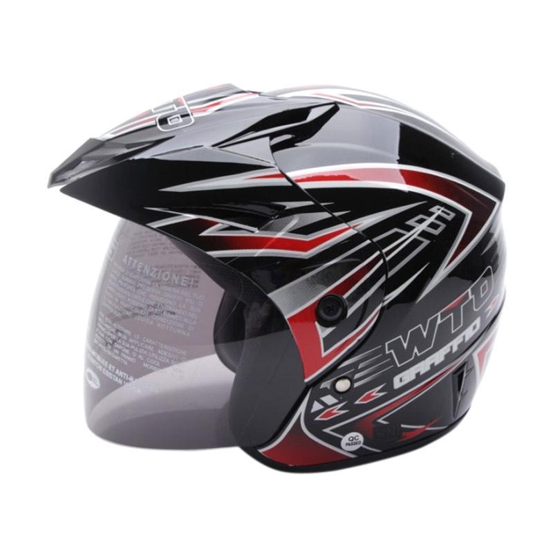 Jual WTO Helmet Z1R PET Graffio Helm Half Face