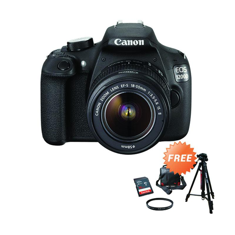Jual Canon EOS 1200D Kit EF S18 55mm IS II Kamera DSLR