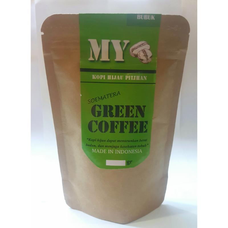 Jual My Green Coffee Organik Diet Bubuk Kopi Hijau [1000 g ...
