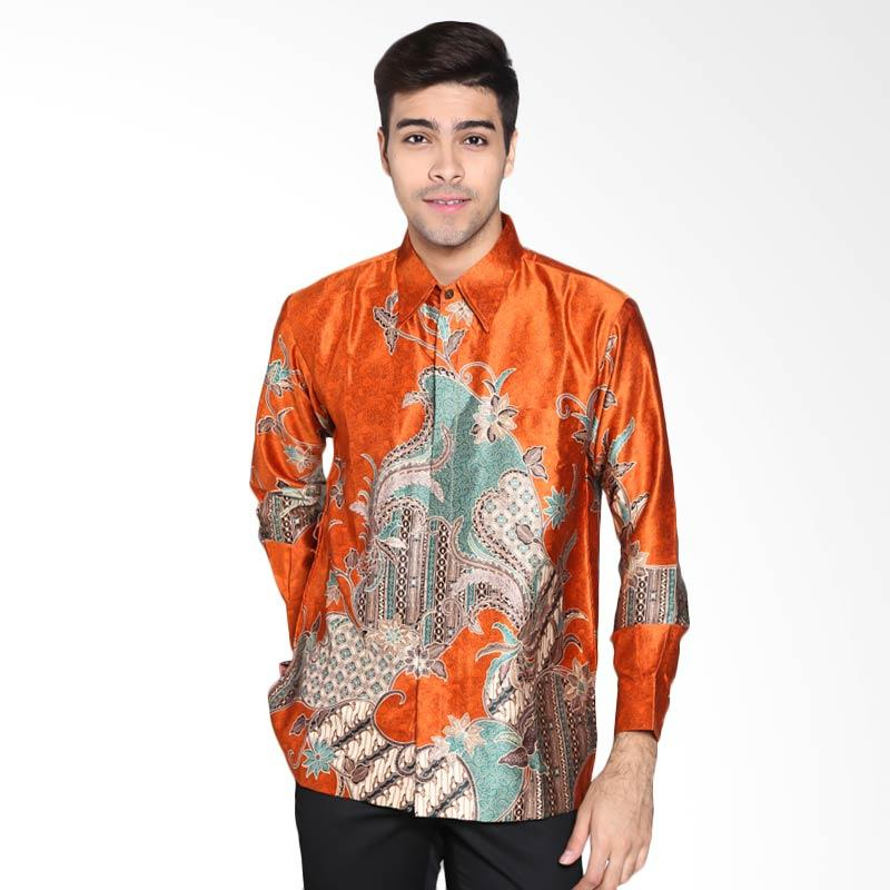 Harga batik waskito long sleeve silk kb 14461 shirt for Silk long sleeve shirt