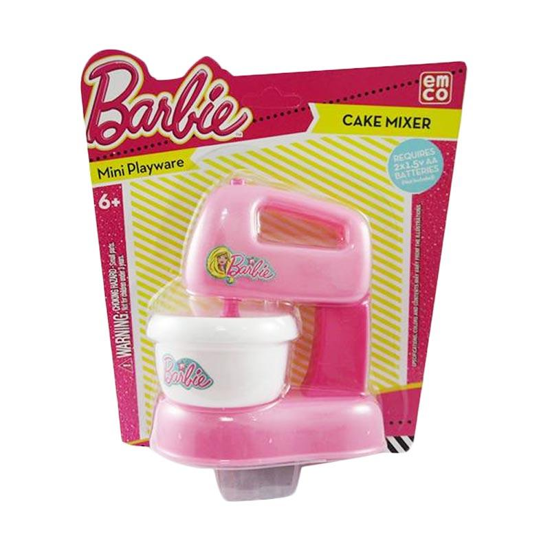 Barbie Mini Playware Cake Mixer Licensed By Emco 0850
