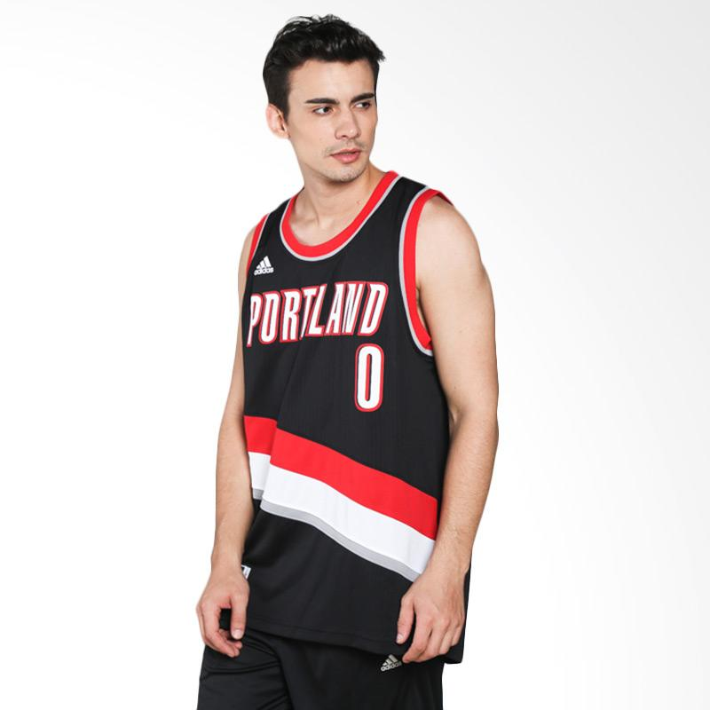 Portland Trail Blazers Number 27: Jual Adidas Men Basketball NBA Portland Trail Blazer