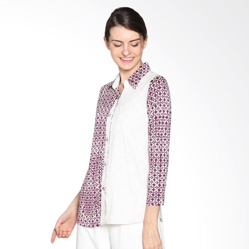 Kemeja Batik Wanita Jumbo: Jual Fafa Collection Kemzi 001 Kemeja Batik Wanita