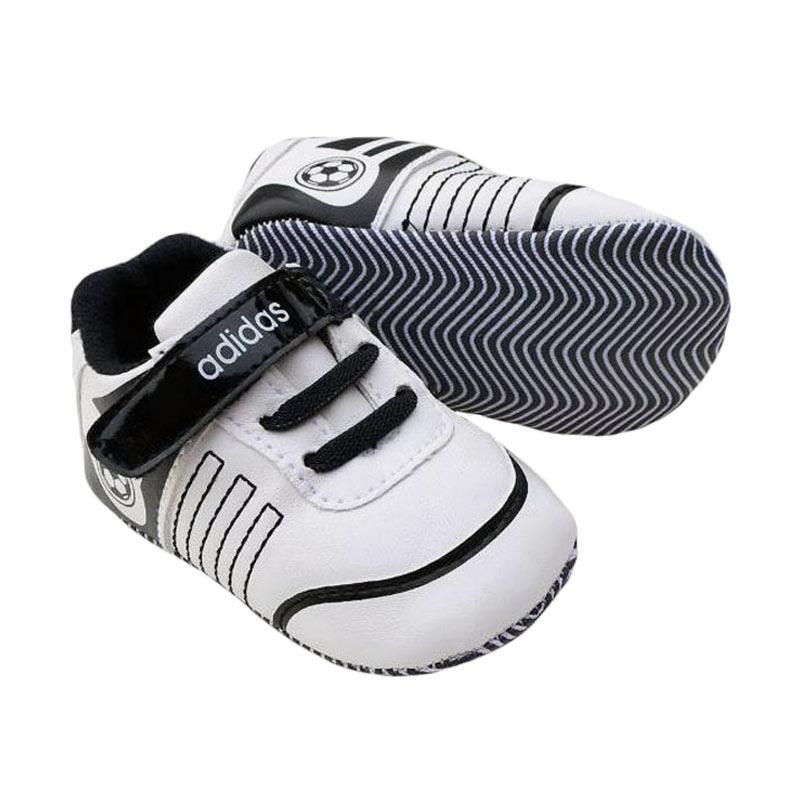 Jual Prewalker Adidas Bola Putih Hitam Sepatu Bayi - White