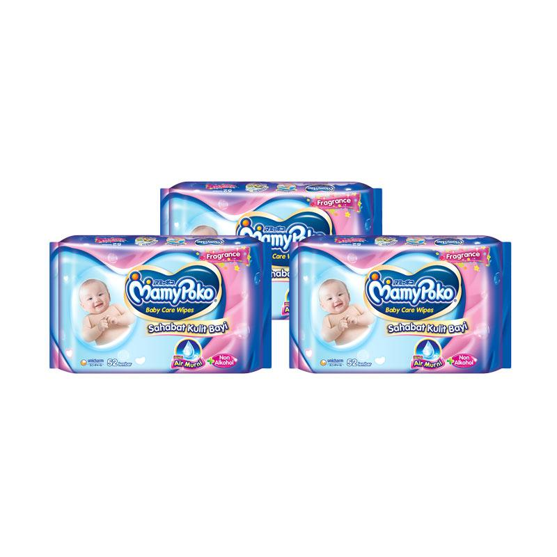 Jual Mamypoko Baby Wipes Reguler Perfumed Tissue Basah