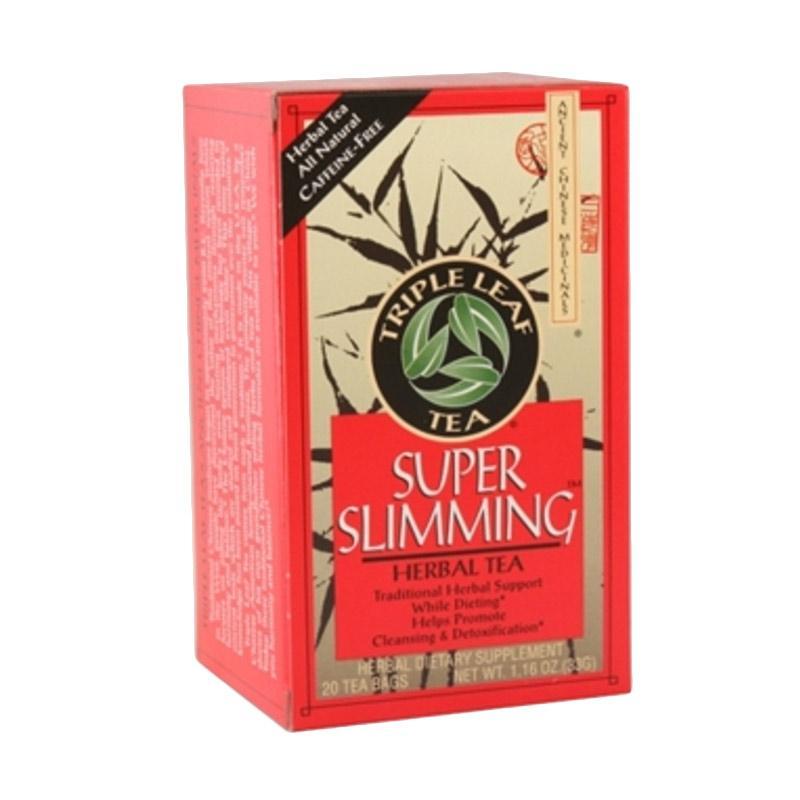 Jual Triple F Leaf Super Slimming Herbal Tea Teh ...