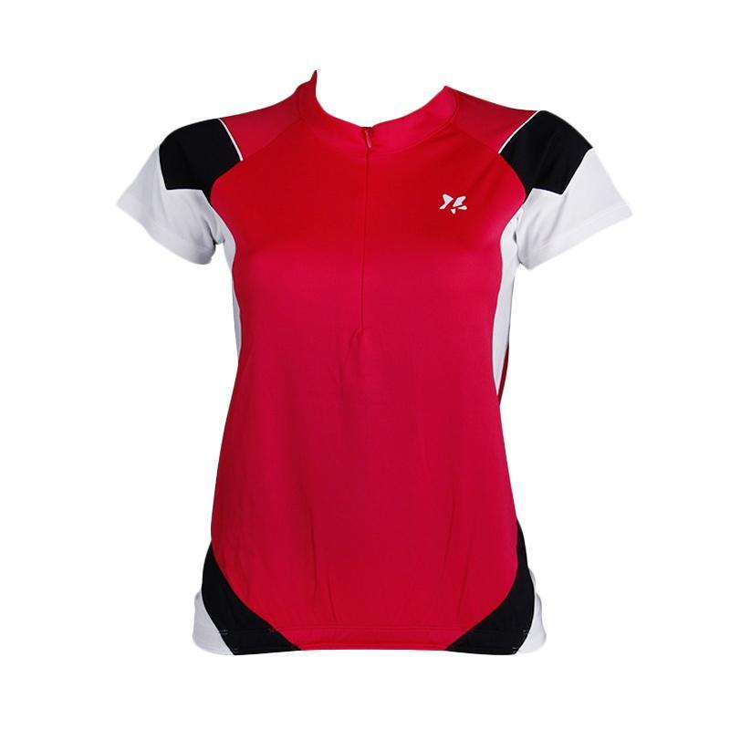 Jual Lasona Brps A2733 M Baju Atasan Sepeda Wanita Merah