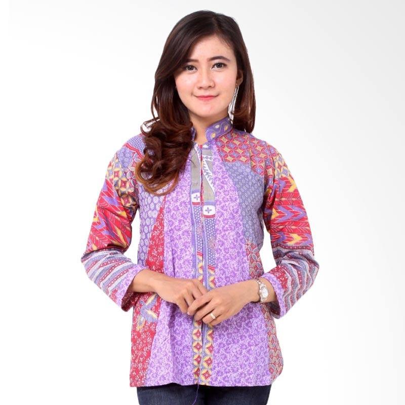 batik-distro_batik-distro-ba8161-blus-wanita-kombinasi-embos-panjang ...