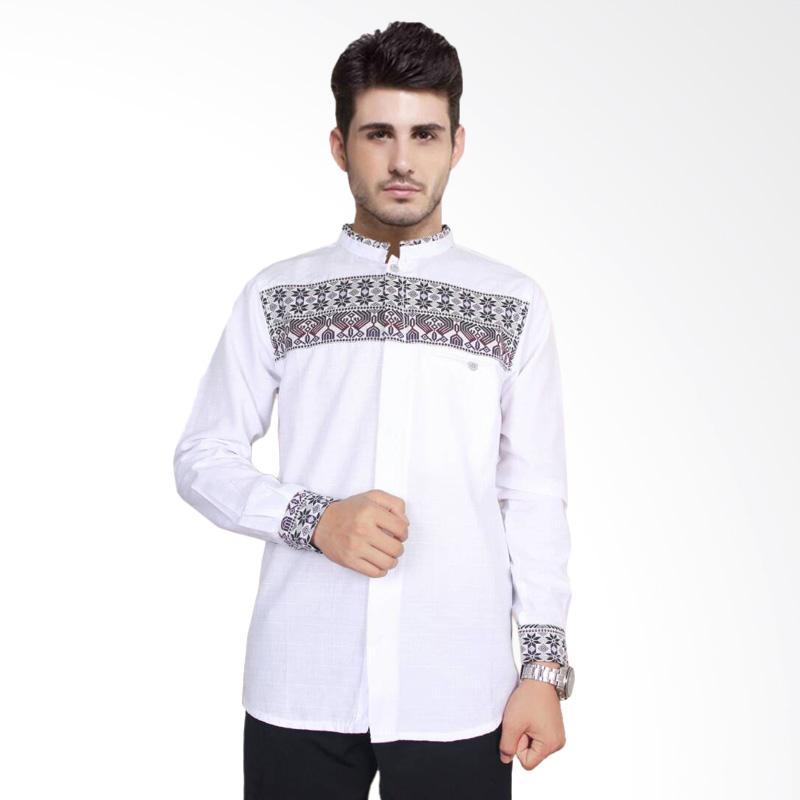 Jual Fayruuz Baju Koko Songket Lengan Panjang Muslim Pria