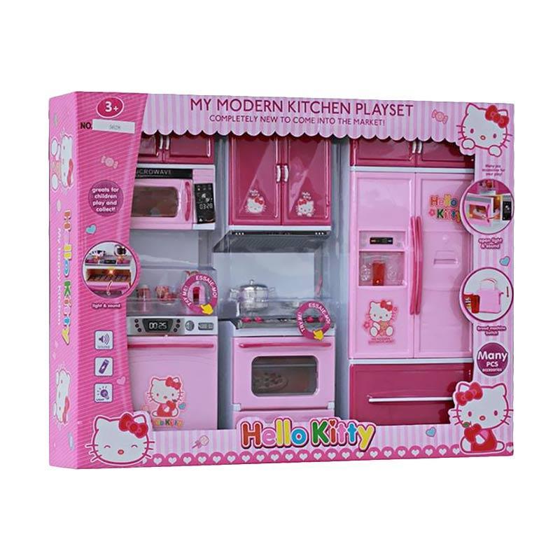 Kitchen Set Hello Kitty: Jual MAO Modern Kitchen Hello Kitty Type 2 Mainan Pretend
