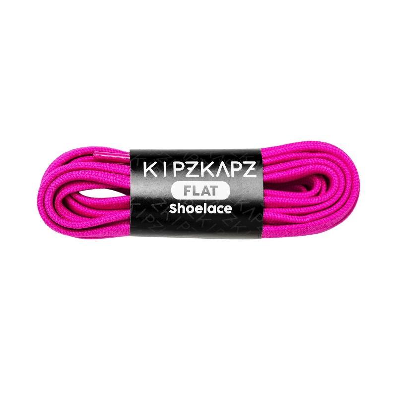 Jual KipzKapz Flat Shoelace Tali Sepatu Pipih - Berry Purple [8 mm/ 140cm] Terbaru