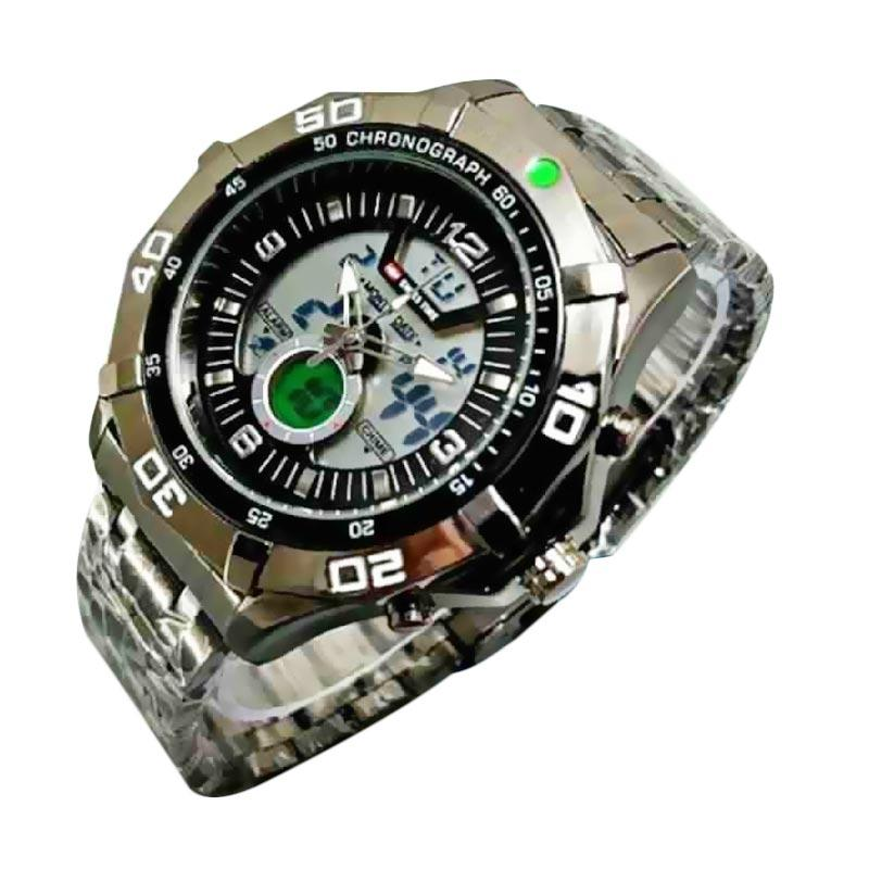 Jual Swiss Army SA272829AD Dual Time Jam Tangan Pria