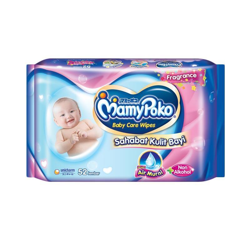 Jual MamyPoko Baby Wipes Reguler Perfumed New Pack Tissue