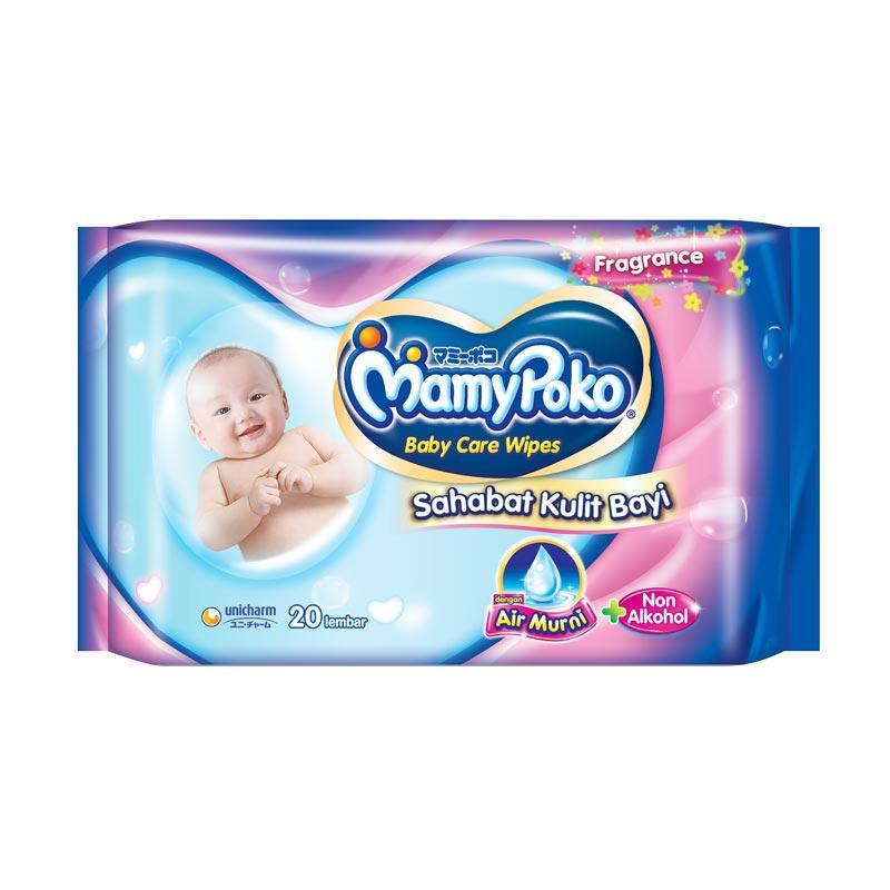 Jual MamyPoko Baby Wipes Premium Perfumed New Pack Tissue