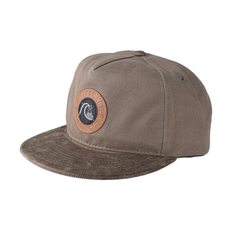 Jual Quiksilver Braggle Rock M Hats Forest Night Topi Pria