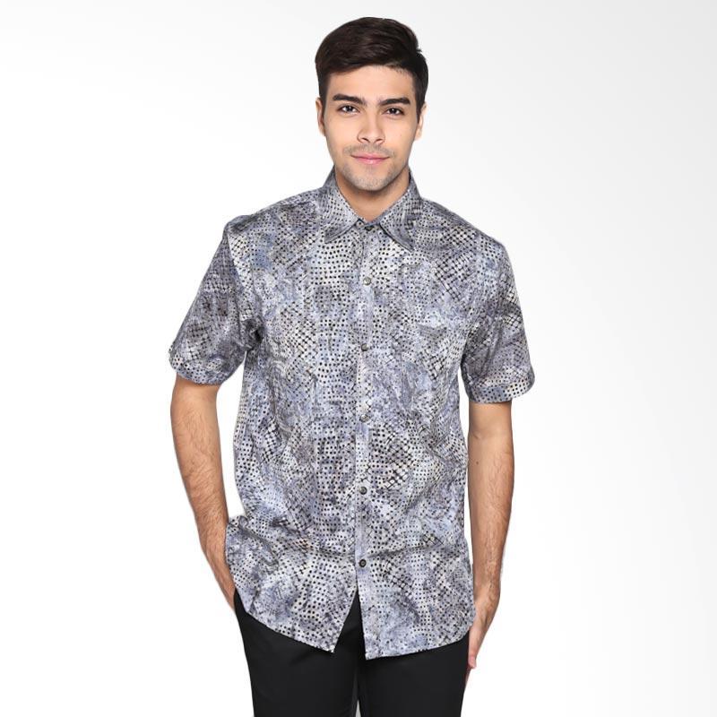 Batik Pria Tampan Com: Jual Batik Pria Tampan PKMPD-04081698C Men Slim Weavy Net