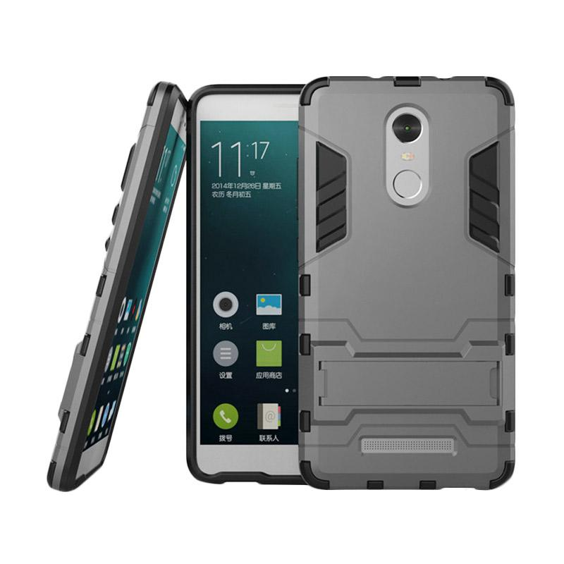 Jual Case Samsung Galaxy J5 Prime On5 2016 Shield Armor Kickstand Avenger Series Grey Free Tempered