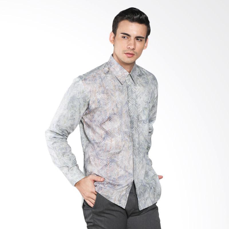 Batik Pria Tampan Com: Jual Batik Pria Tampan Feather Stripe PKMPJ-04081651C Men