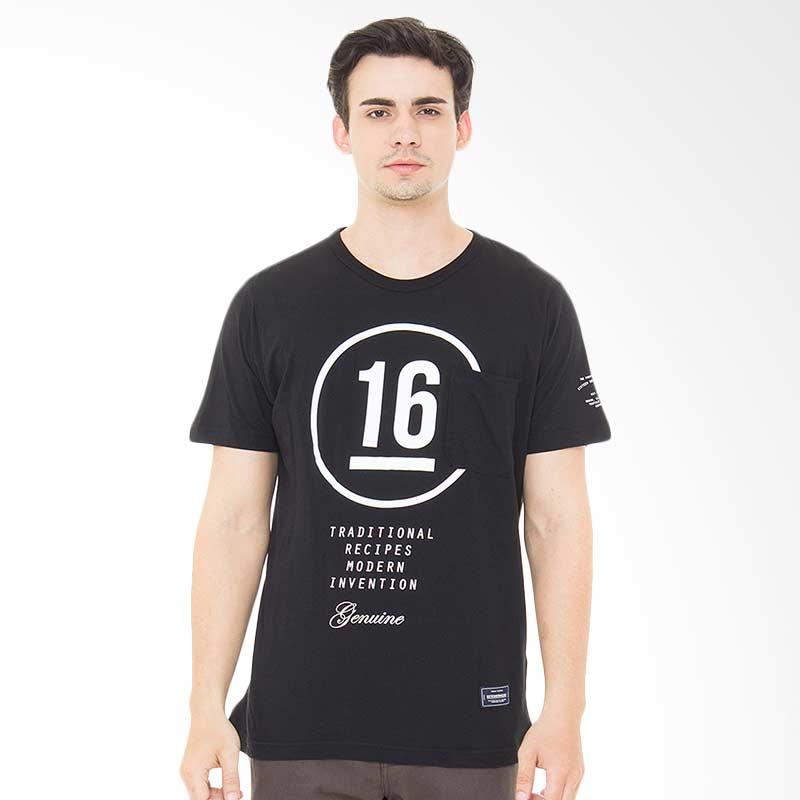 16DS Sixteen Big Kaos Pria - Black Extra diskon 7% setiap hari Extra diskon 5% setiap hari Citibank – lebih hemat 10%